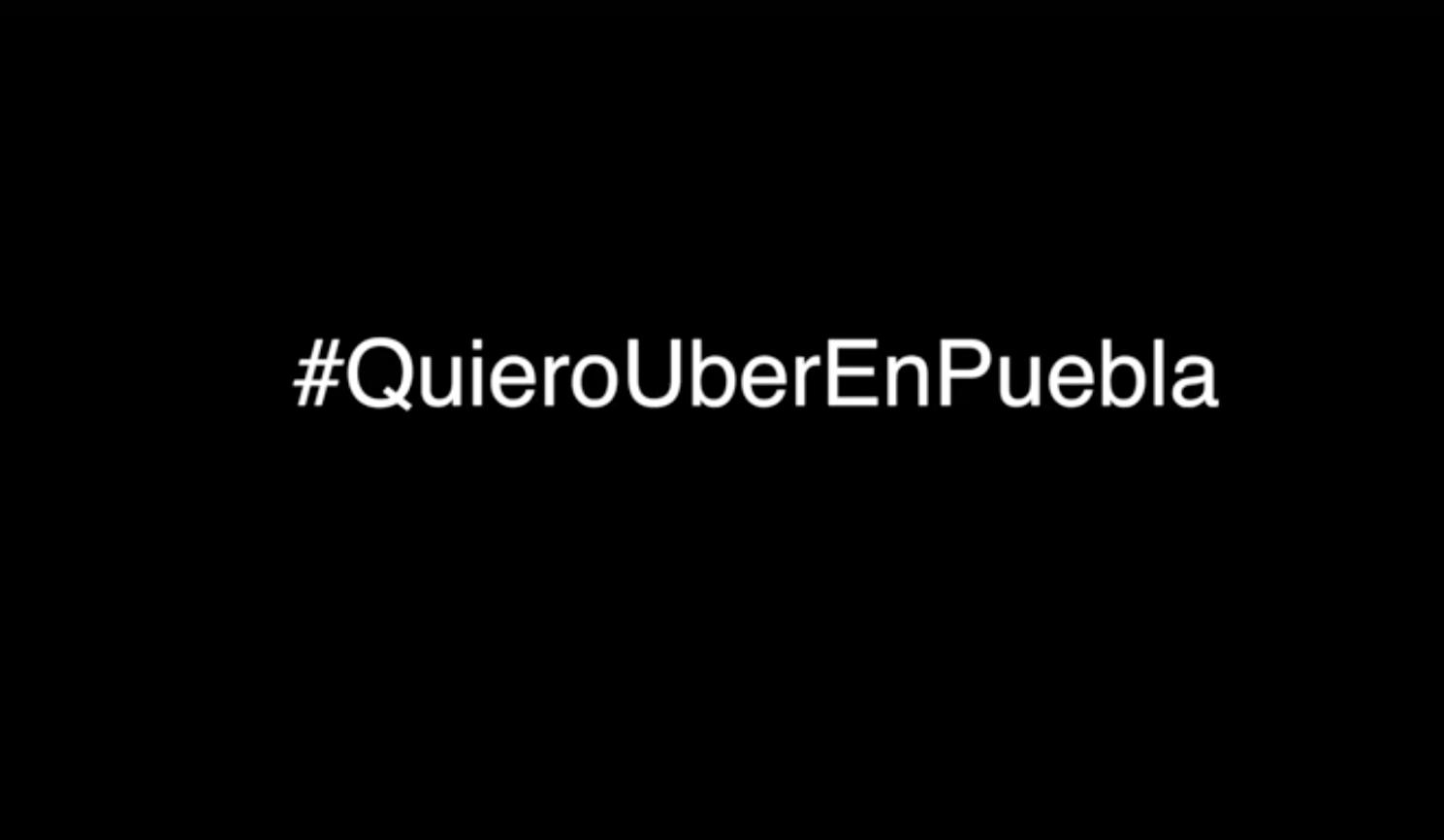 #QuieroUberEnPuebla: alzan la voz usuarios del servio de taxis