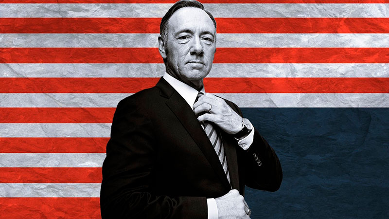 Netflix cancela House of Cards tras polémica de Kevin Spacey