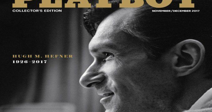 Playboy rinde homenaje con a Hugh Hefner con portada