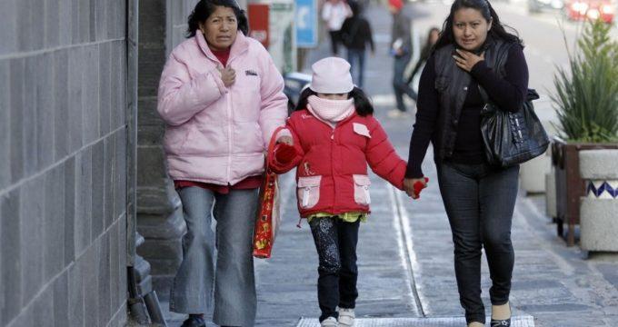 Frente frío 21 causa fuertes vientos y lluvias en el país