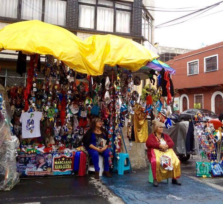 El trajín de mis máscaras en la Arena Puebla; la historia de doña Lucha